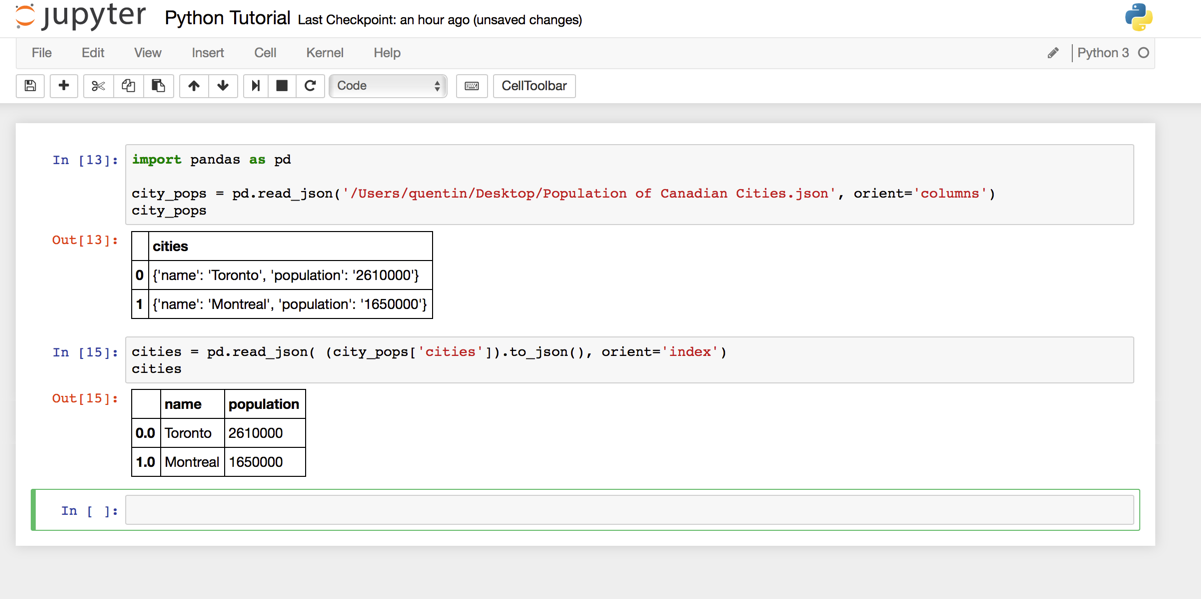 Analyzing JSON With Python – ParseHub Help Center